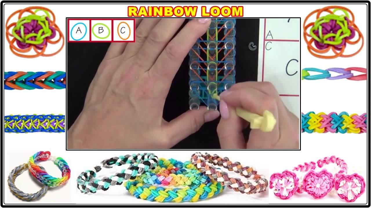 Rainbow Loom® Bird of Paradise Bracelet Lección 58 Kopyası New 2014