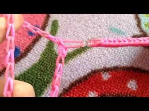 Rainbow Loom llavero para pulsera