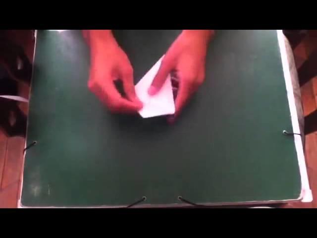 Tutorial de origami: cómo hacer un cisne de papel - Manualidades con papel: como hacer un cisne