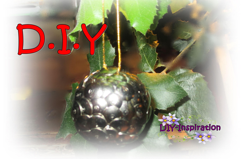 Diy christmas tree ball bola para arbol de navidad - Bola arbol navidad ...