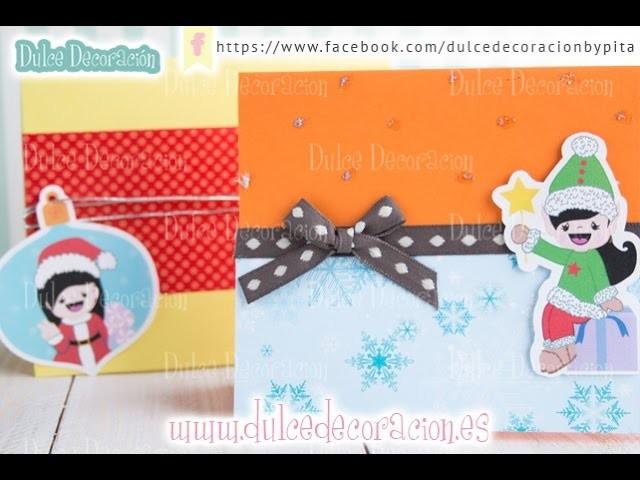 DIY Cómo hacer christmas o tarjetas de navidad