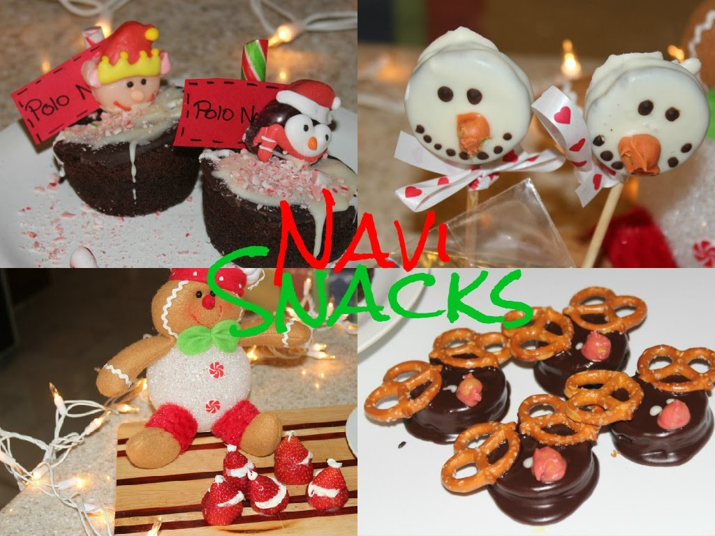 SNACKS PARA NAVIDAD!.DIY EASY CHRISTMAS TREATS