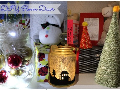 Christmas Holiday DIY Room Decor