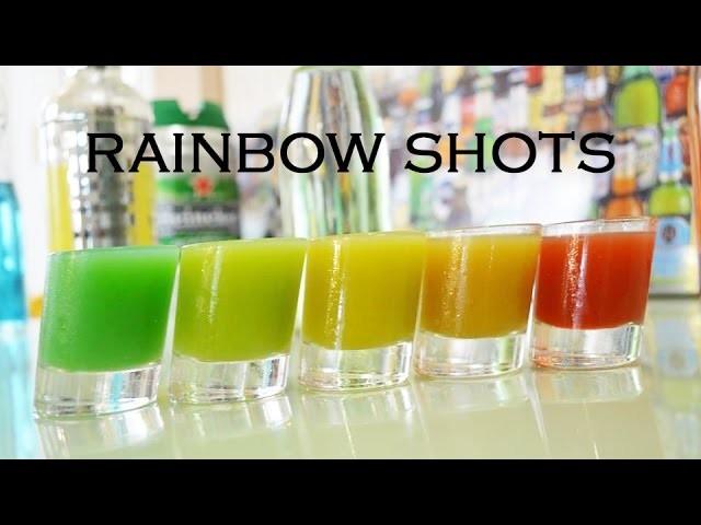Rainbow Shots - Lab Bar - Shots Colores