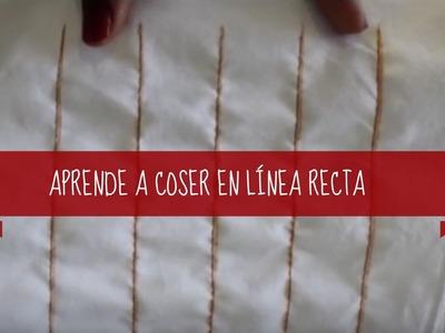 Sewing Tips - Coser en línea recta