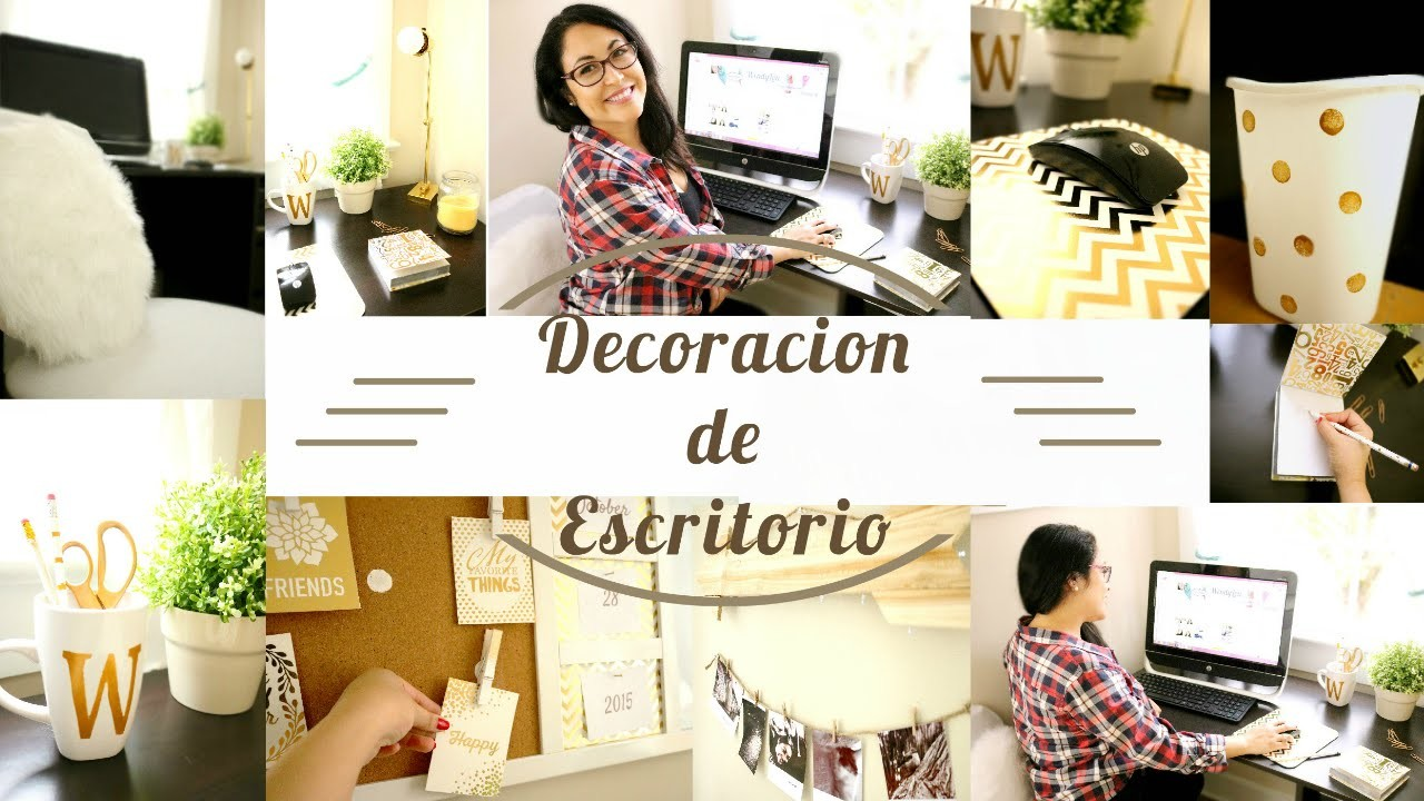 DIY decora tu escritorio| desk decor DIY(colab)