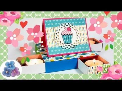 Cartonaje paso a paso: Tarta de Cumpleaños Eterna Regalos Originales DIY Pintura Facil