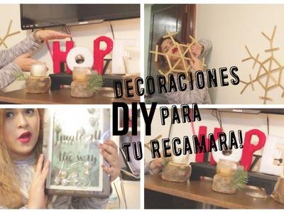 DIY ADORNOS DE NAVIDAD PARA TU RECAMARA  :)