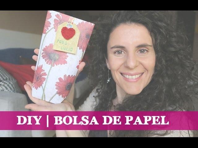 DIY | Bolsa de papel para regalo
