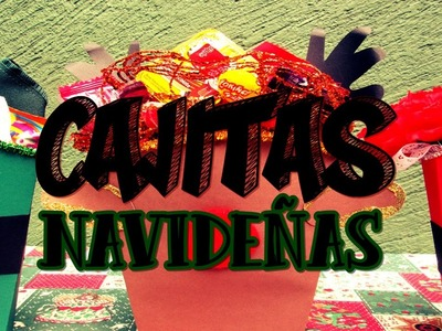 DIY Cajitas Navideñas