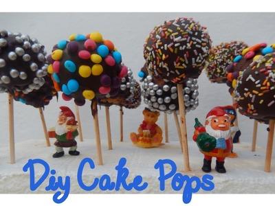 DIY- Cómo hacer Cake Pops | Candermich