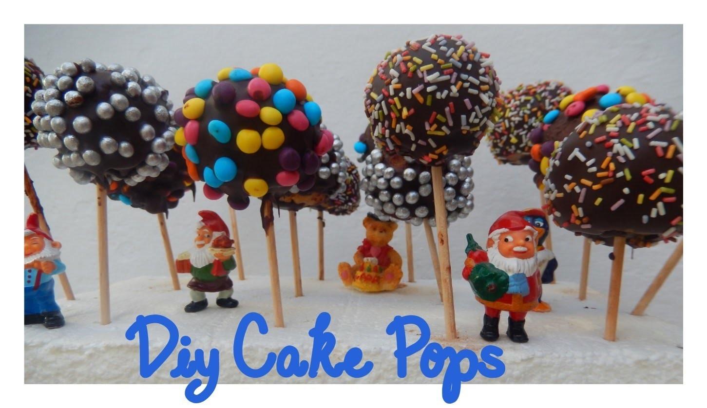 DIY- Cómo hacer Cake Pops   Candermich
