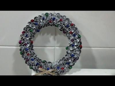 DIY Corona de Navidad Pequeña