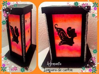 DIY Lámpara de cartón