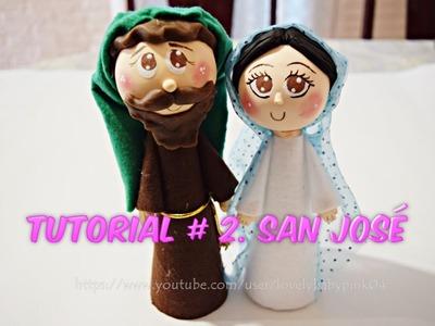 DIY Nacimiento Navideño - Manualidades Navidad San José