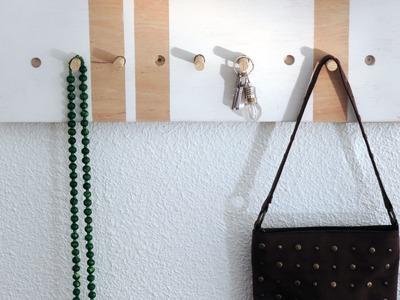 DIY: Panel – estantería para el recibidor