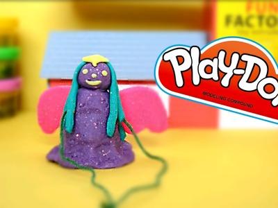 DIY Play-Doh Angel Ornament