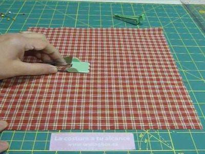 Tutorial para hacer bies. Sewing Box