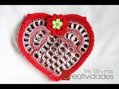 14 de Febrero - proyecto de Día de San Valentín Monedero Corazón parte 1