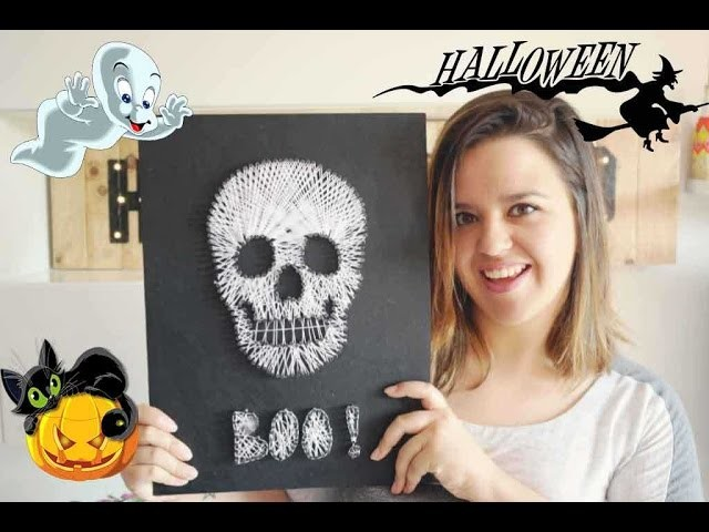 Calavera para Halloween ! Decora tu hogar - DIY - Mery