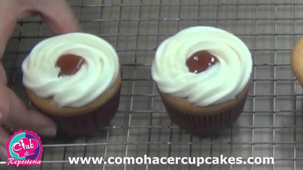 Como Hacer Cupcakes Ricos y Bonitos