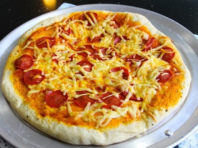 Cómo hacer masa para pizza paso a paso - Receta - La receta de la abuelita