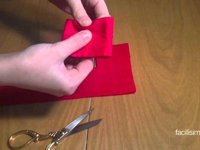 Cómo hacer un lazo para el pelo con fieltro | facilisimo.com