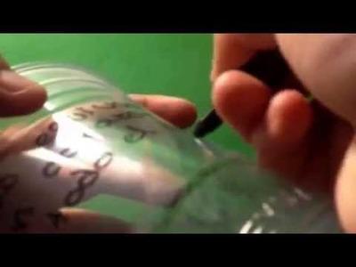 Como hacer un vaso dulcero es súper fácil