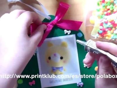 Decoración de navidad con polabox