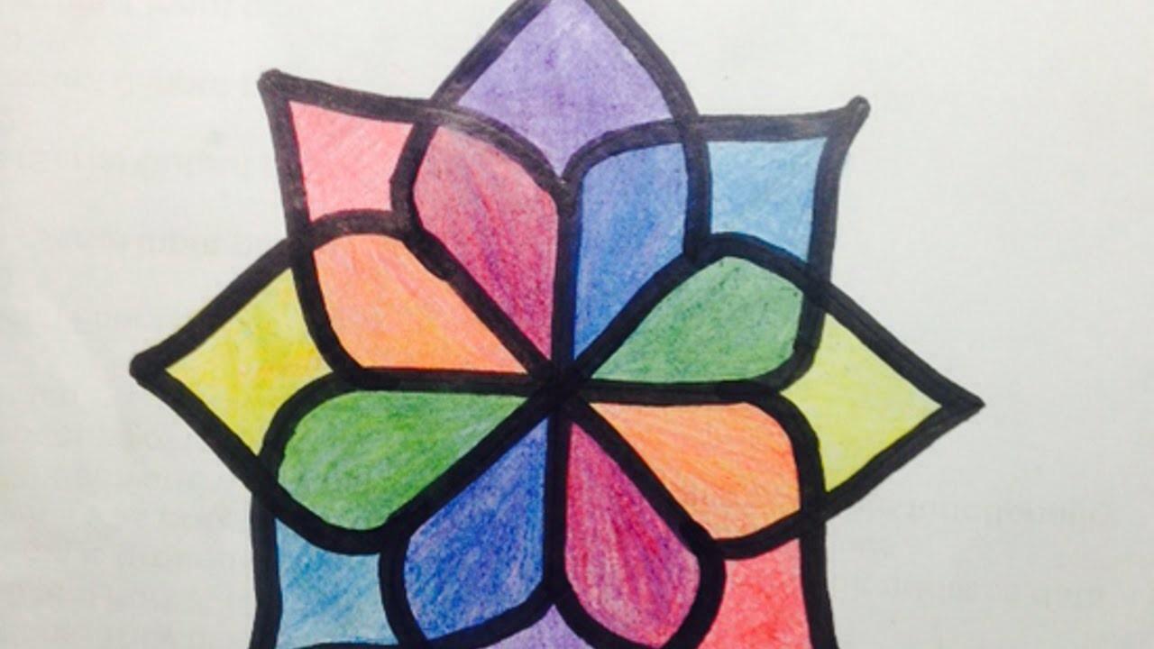 Dibuja Fácilmente un Patrón de una Preciosa Flor - Hazlo tu Mismo Manualidades - Guidecentral