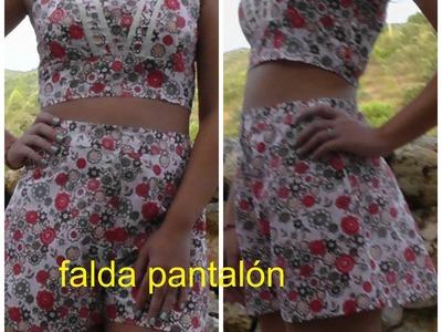 DIY:FALDA PANTALÓN 1ª PARTE