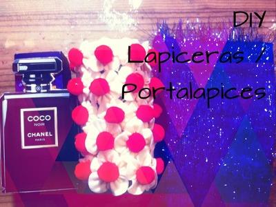 DIY Lapiceras. Portalapices originales #RegresoAClases #backtoschool