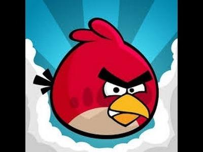 Manualidades con plastilina.Angry Birds de plastelina.Fácil y sencillo.