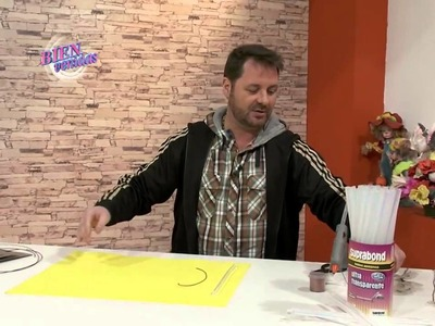 Martín Muñoz - Árbol de la vida con alambre y hotmelt