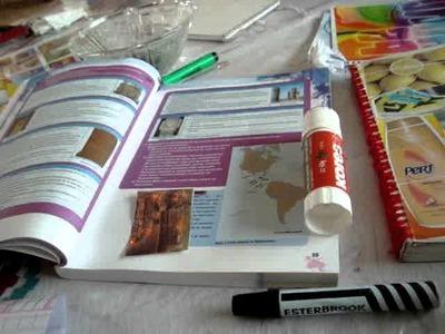 Materiales para hacer stickers caseros