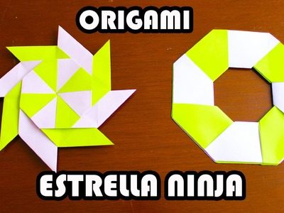 Ninja Star Origami. Estrella Ninja de Origami TUTORIAL!