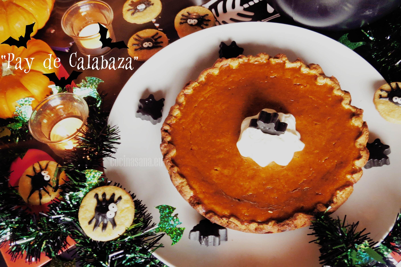 PAY DE CALABAZA: Receta especial para Halloween