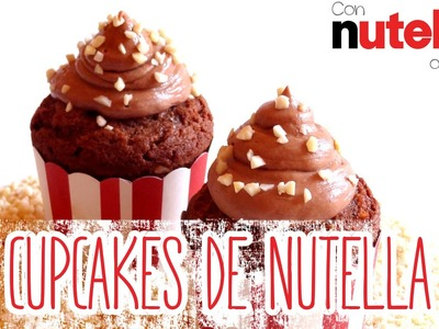 Receta: Cupcakes de chocolate con buttercream de Nutella