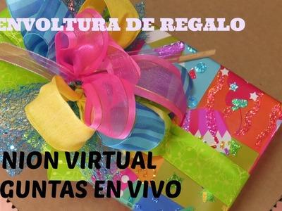 Reunion virtual envolturas de regalo