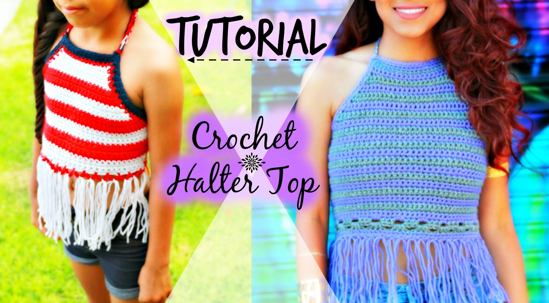 TUTORIAL: Crochet Halter Top