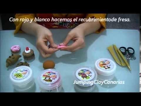 Tutorial Pasteleria Bakery (2.4) Jumping Clay