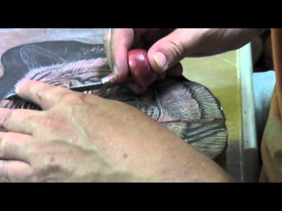 Xilografía a contrafibra. Wood engraving. Jorge Mateos.
