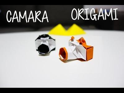 Camara origami - Dollar Bill Camera