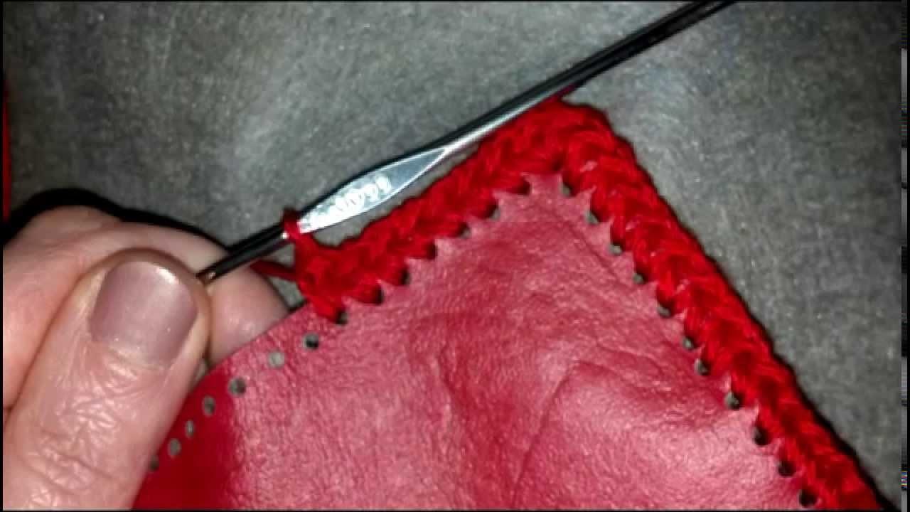 Cartera Crochet y Se Mil Cuero