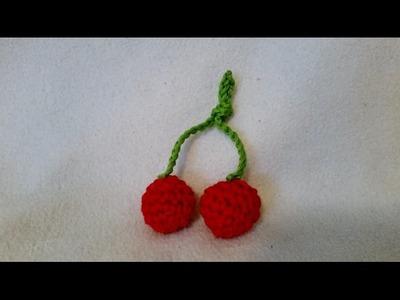 Cerezas en crochet - Cereza de BerlinCrochet