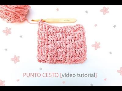 Cómo hacer el punto cesto en ganchillo | Basket crochet stitch