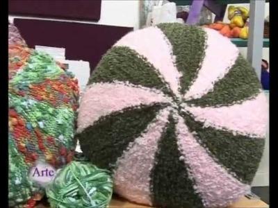 Como tejer almohadones con diseño y creatividad