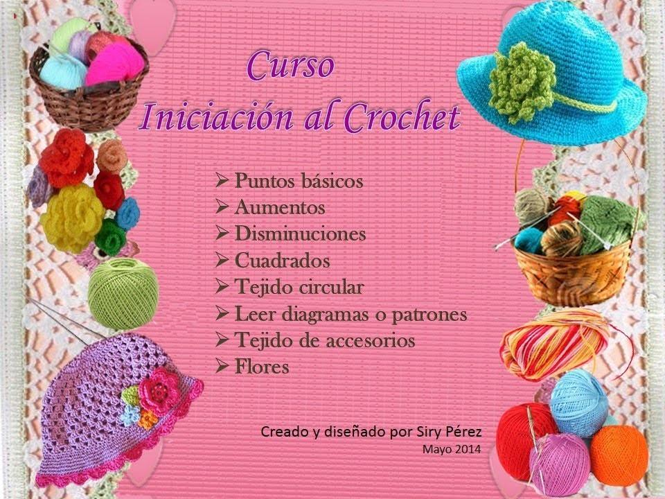 Curso Iniciación al Crochet