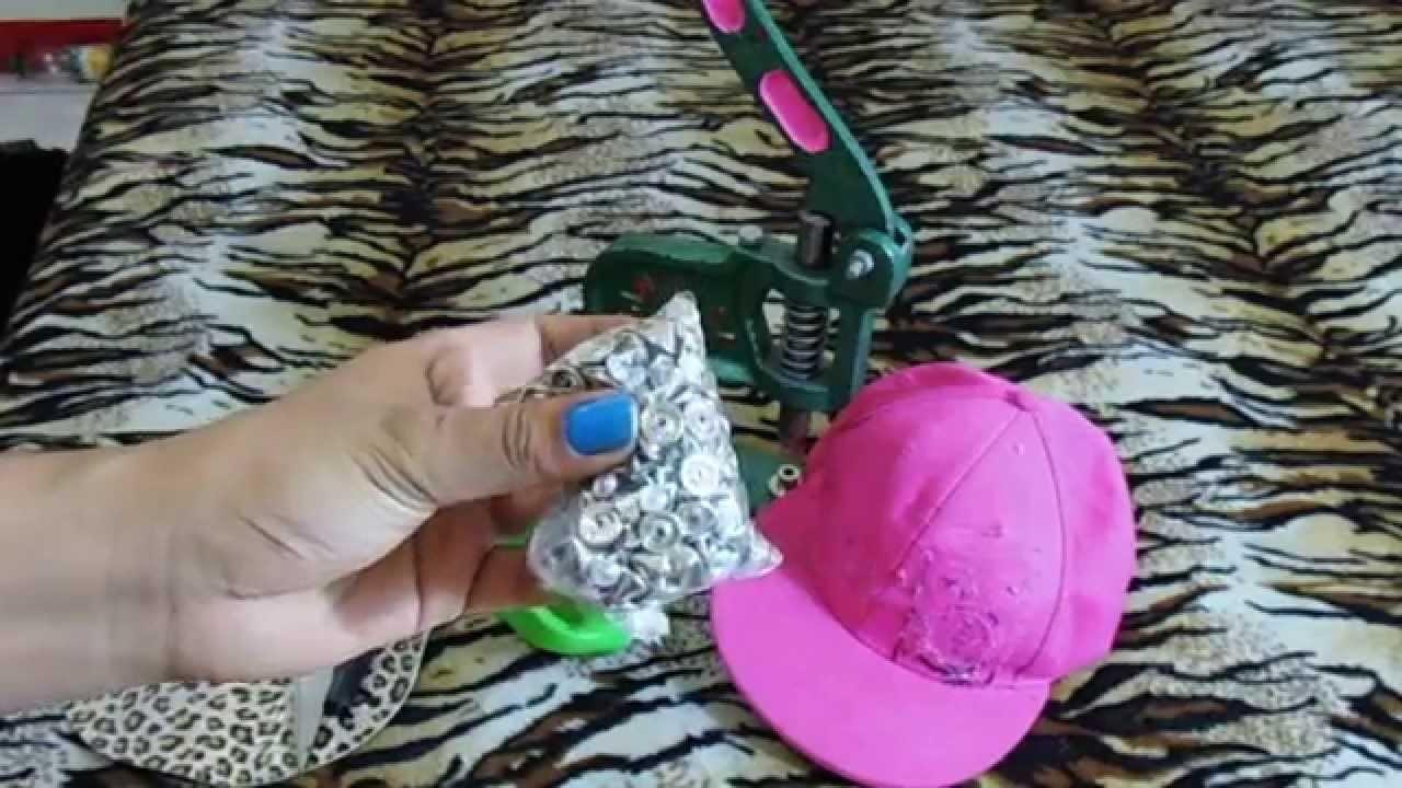 Manualidades    como decoro mi gorra