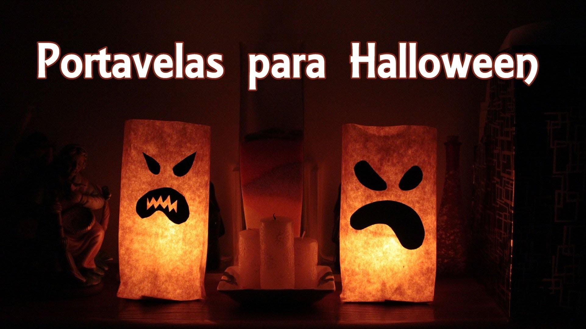 Portavelas para Halloween - Lámparas de Halloween, Manualidades Fáciles